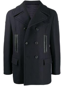 Salvatore Ferragamo двубортное пальто 738621
