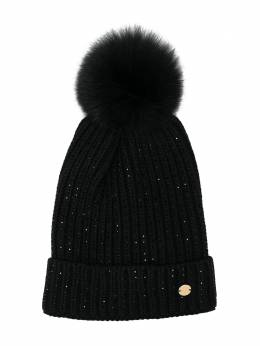 Miss Blumarine TEEN knitted bobble hat MBL3194