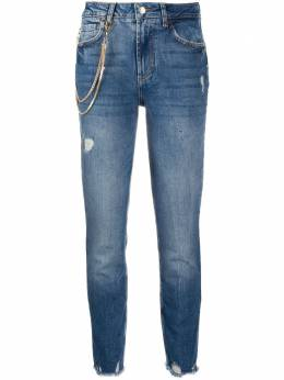 Liu Jo джинсы прямого кроя с цепочкой UF0034D4524