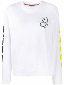 Ps by Paul Smith graphic-print crew-neck sweatshirt W2R141VEP2293