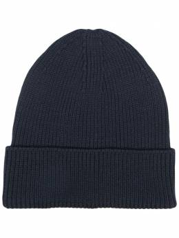Y-3 ribbed knit wool beanie GR4119