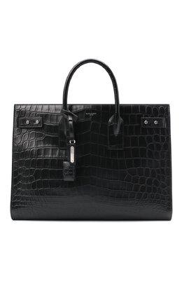 Кожаная сумка Sac de Jour Saint Laurent 631526/0Q50E