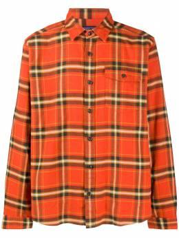 Patagonia фланелевая рубашка Fjord в клетку 54020