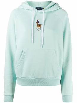 Polo Ralph Lauren embroidered polo hoodie 211800246002
