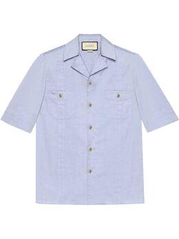 Gucci рубашка с короткими рукавами 628320ZACE5