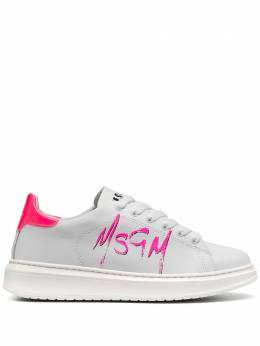 MSGM logo print sneakers 2941MDS1708123