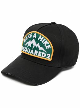 Dsquared2 бейсболка с вышитым логотипом BCM038105C00001