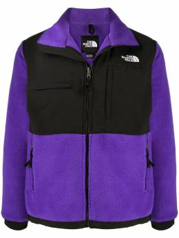 The North Face logo print zip-up jacket NF0A4QYJNL41