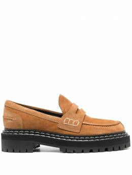 Proenza Schouler lug-sole penny loafers PS35111A12105