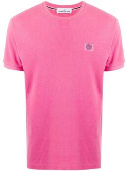 Stone Island logo patch T-shirt 731520467