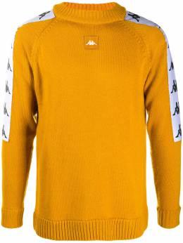 Kappa logo-stripe crew neck jumper 304N1C0