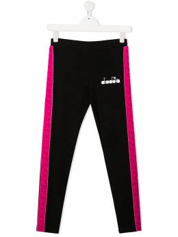 Diadora Junior logo print leggings 026319