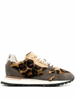 Moma кроссовки Crafts с леопардовым принтом 3AW199CR