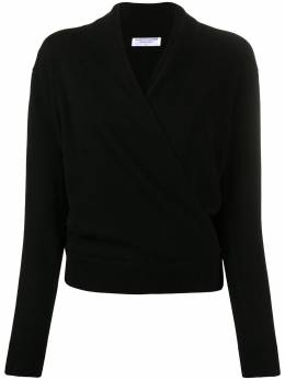 Majestic Filatures wrap double-breasted cardigan KH0K011FPU259