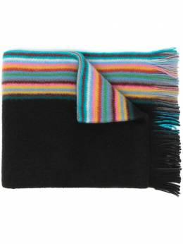 Paul Smith striped fringe scarf M1A420FAS10