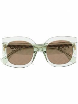 Fendi Eyewear солнцезащитные очки в массивной оправе FF0436GS1ED7Y
