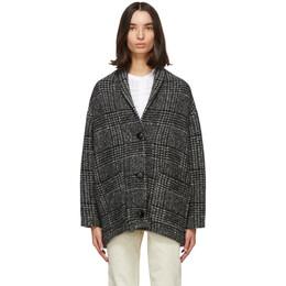 Isabel Marant Etoile Black and White Elomia Jacket 20AMA0771-20A022E