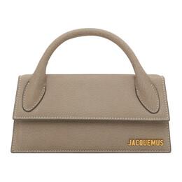 Jacquemus Grey Le Chiquito Long Clutch 203BA04-203 304960