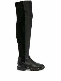 Tory Burch knee-length elasticated panel boots 74194