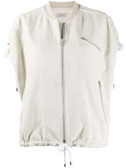 Mrz куртка без рукавов с кулиской S200377