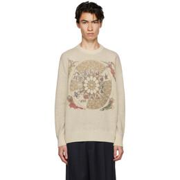 Gmbh Off-White Wool Zodiac Sweater ZODIAC