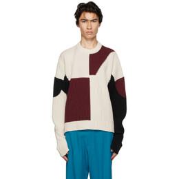 Gmbh Off-White Wool Mies Sweater MIES