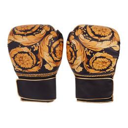 Versace Black Boracco Boxing Gloves ZGU000001 ZPEL0053