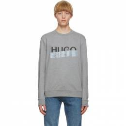 Hugo Grey Logo Sweatshirt 50436126