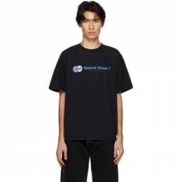 Rassvet Black Logo Stream 7 T-Shirt PACC7T004