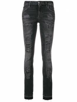 Philipp Plein ripped skinny jeans WDT0718PDE004N