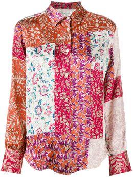Forte_Forte рубашка с принтом 7816MYSHIRT