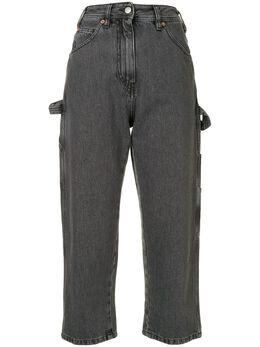 Mm6 Maison Margiela укороченные джинсы прямого кроя S32LA0217S30652