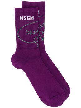 MSGM носки в рубчик 2940MS03207746