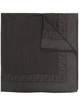 Fendi шарф с монограммой FXS700ACD2