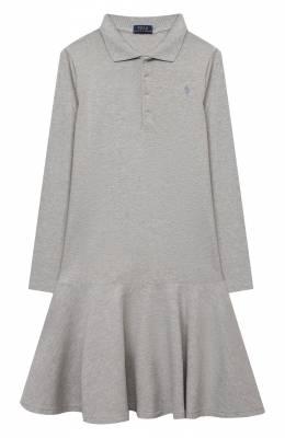 Хлопковое платье Polo Ralph Lauren 313698758