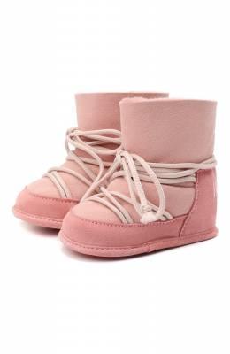 Замшевые ботинки Inuikii 68302-50
