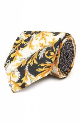 Шелковый галстук Versace ICR7001/A236228