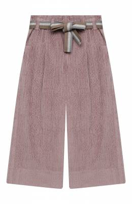 Хлопковые брюки Brunello Cucinelli BB543P024A