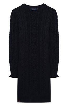 Хлопковое платье Polo Ralph Lauren 313805644