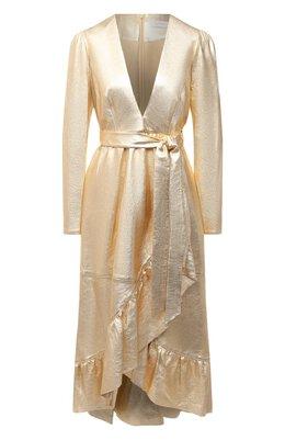 Кожаное платье Zimmermann 8710DLAD