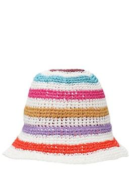 Шляпа Из Рафии Вязки Крючком Missoni 72IJ5O001-U00zNkI1