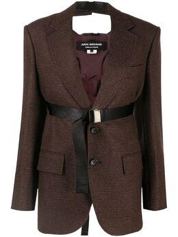 Junya Watanabe пиджак оверсайз с поясом JFJ0171