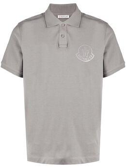 Moncler рубашка поло с логотипом F20918A7171084556
