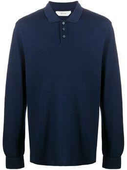 Z Zegna рубашка поло с длинными рукавами VV376ZZ617