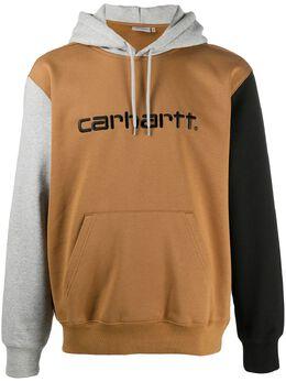 Carhartt Wip худи в стиле колор-блок с вышитым логотипом I02835303