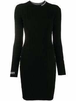 Love Moschino платье с логотипом CS14R10X0844C74