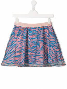 Kenzo Kids юбка с абстрактным принтом KN27118