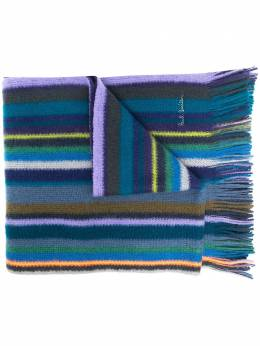 Paul Smith striped wool knit scarf M1A422FES10