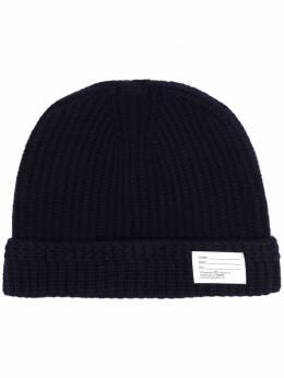 Visvim шапка бини с нашивкой-логотипом 0120203003019