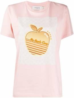 Coach apple-print T-shirt 4231